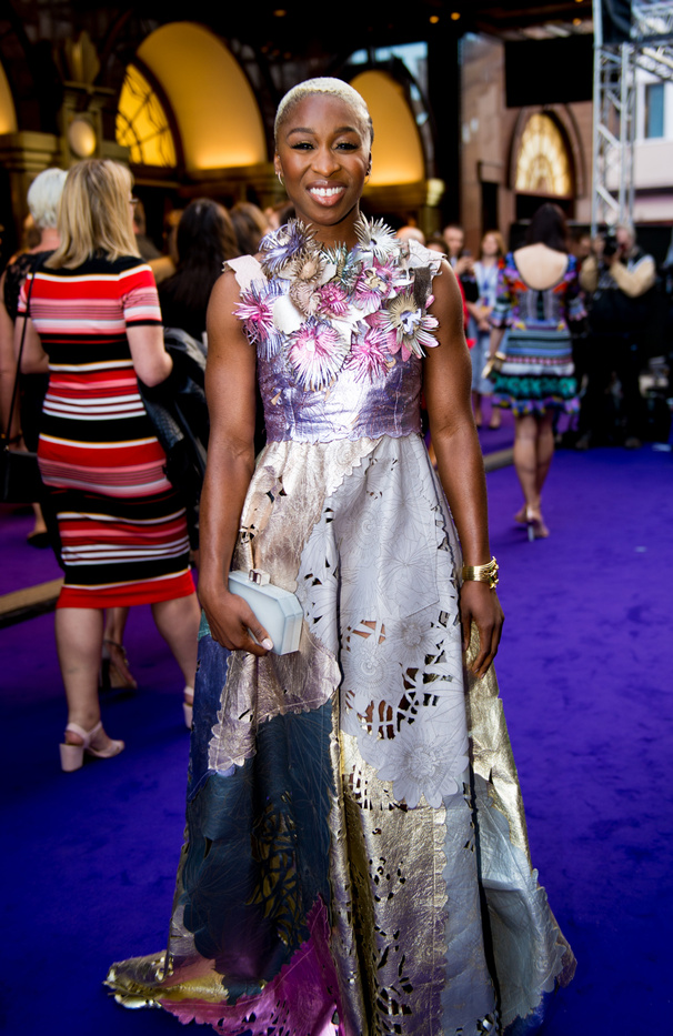 Jet Set! The Color Purple Tony Winner Cynthia Erivo Sparkles at Aladdin's London Opening
