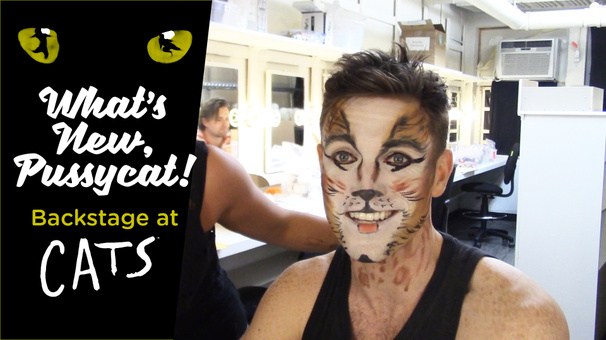 What's New, Pussycat! Backstage at Cats with Tyler Hanes, Episode 3: Music, Makeup & Moonlight