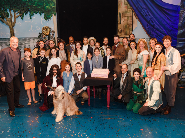 They Own the Night! Finding Neverland Celebrates 500 Performances on Broadway