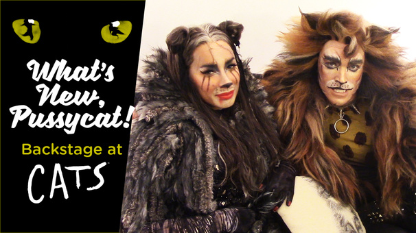 What's New, Pussycat? Backstage at Cats with Tyler Hanes, Episode 7: Previews!