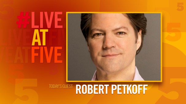 Broadway.com #LiveatFive with Robert Petkoff of Fun Home's National Tour