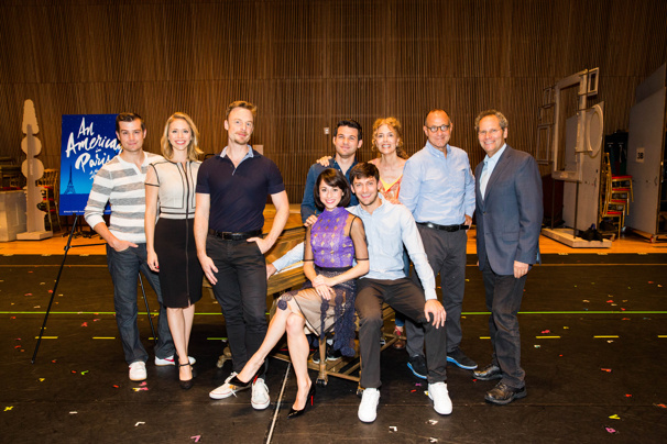 Bonjour! The Cast of the An American in Paris Tour Meets the Press