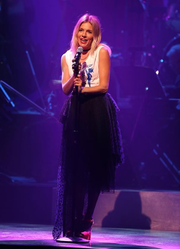 "Sienna Miller channels her inner diva for ""Cabaret.""(Photo: Justin Sullivan/Getty Images)"