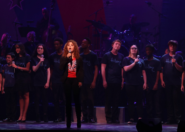"Theater diva Bernadette Peters makes dreams come true and sings ""Children Will Listen"" from Into the Woods.(Photo: Justin Sullivan/Getty Images)"