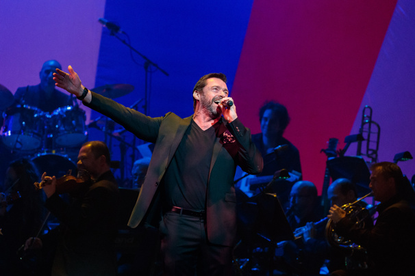 Hugh Jackman is back on Broadway! If only it weren't for one night only. Fingers crossed!(Photo: Adam Schultz)