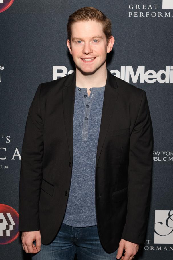 King Rorge! Hamilton's Rory O'Malley attends the premiere of Hamilton's America.