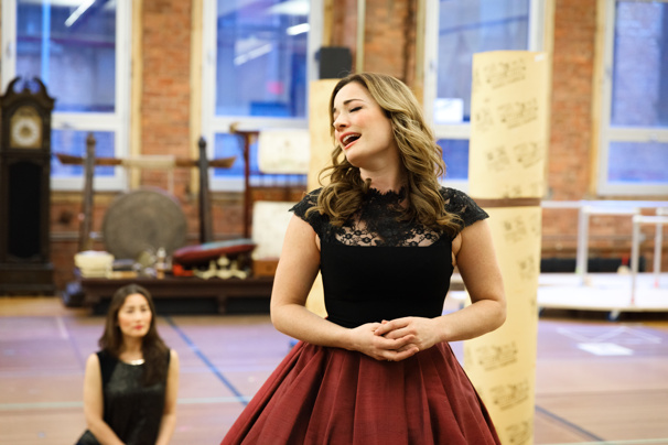 "Songbird Laura Michelle Kelly takes on ""Hello Young Lovers."""