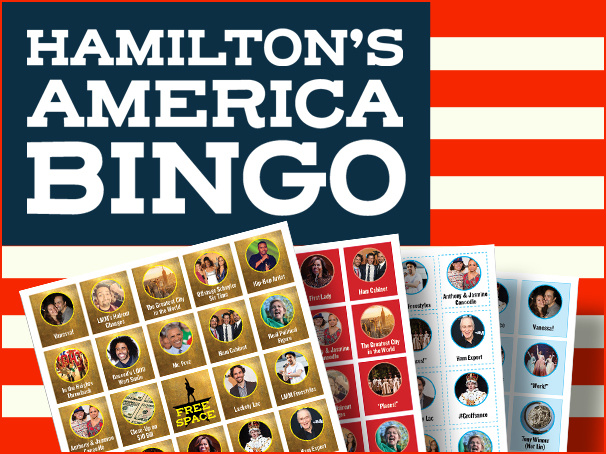 Don't Throw Away Your Shot! Play Hamilton's America Bingo When the Documentary Airs