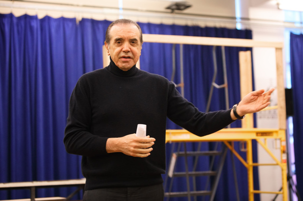 A Bronx Tale's movie and stage adaptation scribe Chazz Palminteri has the floor.