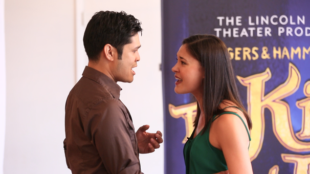Look at the Stars! The King and I's Kavin Panmeechao & Manna Nichols Sing 'I Have Dreamed' in Rehearsal