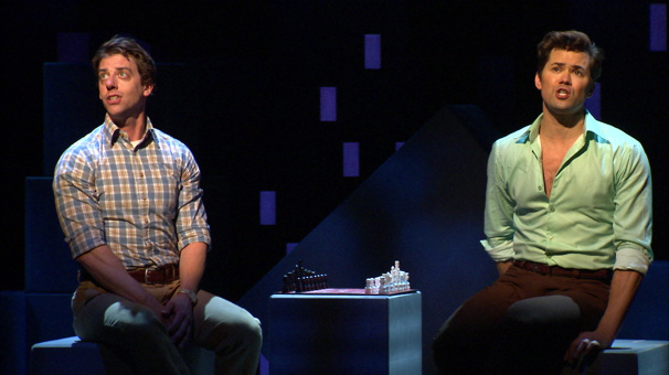 Baseball, Bar Mitzvahs & Borle! Watch Love Tell a Million Stories in Falsettos