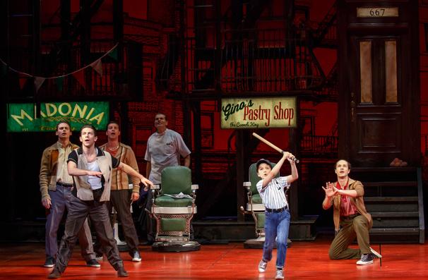 Broadway company of A Bronx Tale