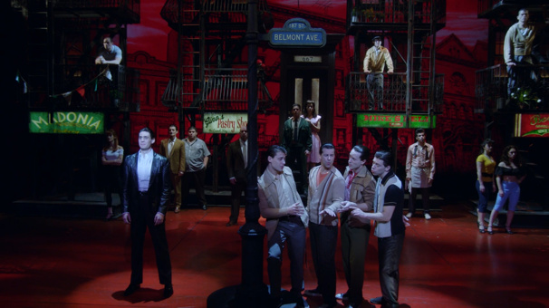 Singing Doo-Wop & Putting Dukes Up! Welcome to Belmont Avenue in Broadway's A Bronx Tale