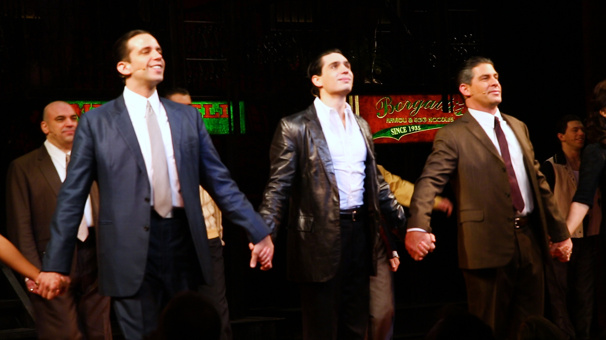 #BuzzNow: Stunning Looks and a Standing O at A Bronx Tale's Broadway Bow