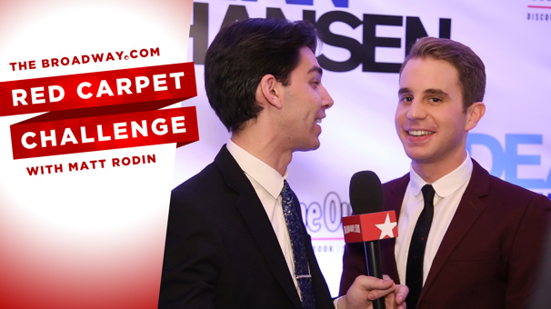 OMG! It's Time for the 'WTFDTSF' Red Carpet Challenge with Ben Platt & the Stars of Dear Evan Hansen