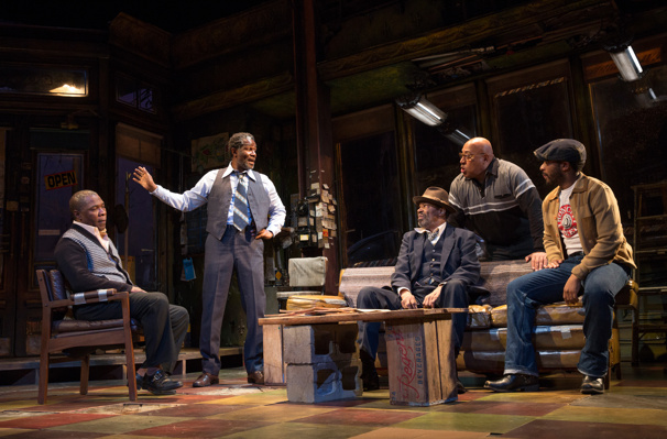 August Wilson's Jitney Wins the 2017 Tony Award for Best Play Revival
