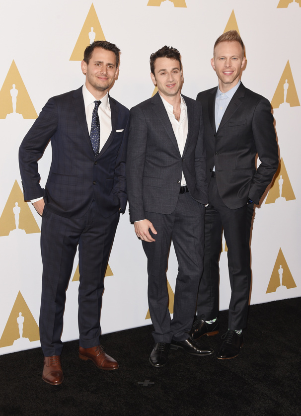Dear Evan Hansen Songwriters Benj Pasek & Justin Paul Are Oscar Winners for La La Land