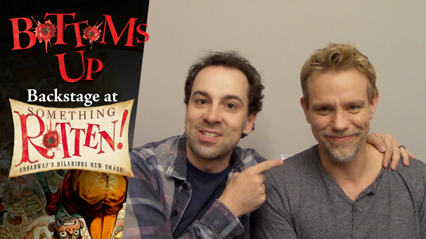 Bottoms Up: Backstage at the Something Rotten! Tour with Rob McClure, Episode 7: Howling with Wolves