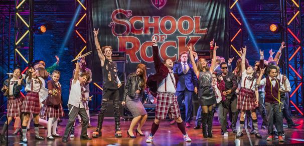 Original London cast of School of Rock