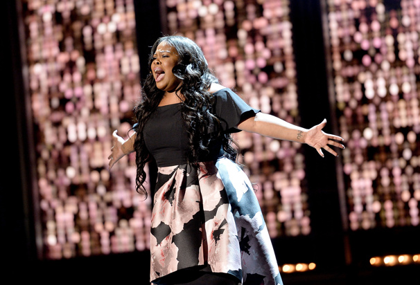 Watch Dreamgirls' Amber Riley Belt Out 'And I'm Telling You I'm Not Going' at the Olivier Awards