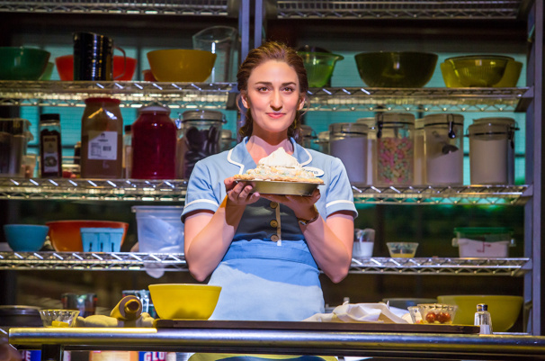 Sara Bareilles as Jenna in Waitress.