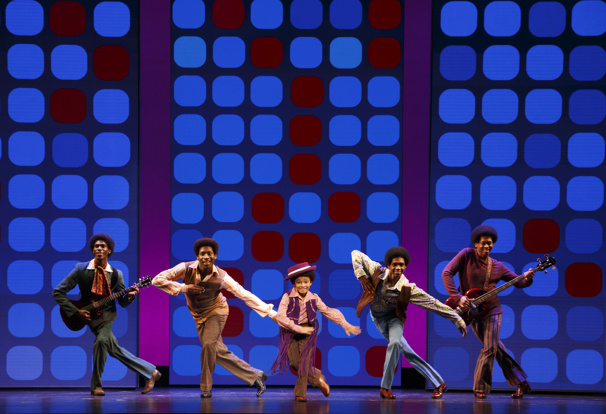 CJ Wright as Michael Jackson & the Jackson 5 in Motown The Musical