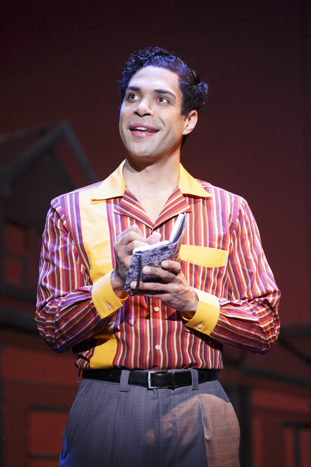 David Kaverman as Smokey Robinson in Motown The Musical