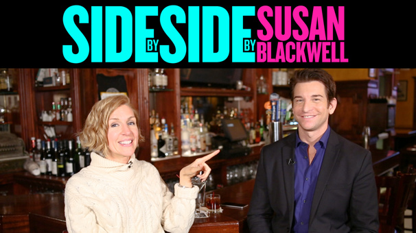 Cheers! Groundhog Day's Andy Karl Clinks Glasses with Susan Blackwell in the Newest Side By Side