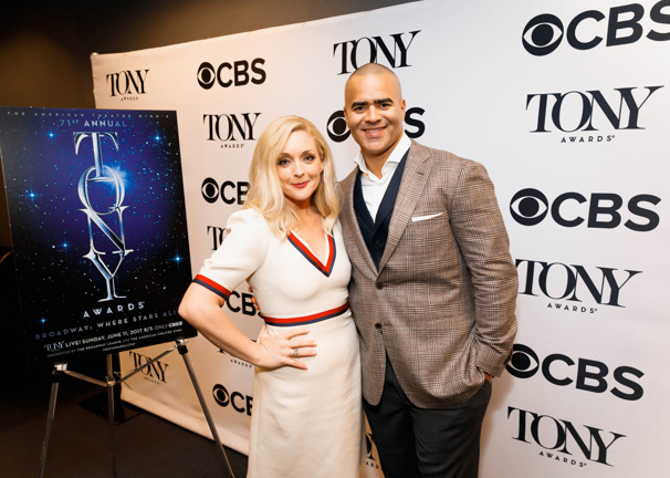 And the Nominees Are... Jane Krakowski & Chris Jackson Reveal the 2017 Tony Nominations Bright & Early