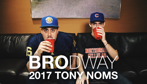 Sup, Bro? Hamilton's James Monroe Iglehart & Come From Away's Jenn Colella Join BROdway for the Tony Noms