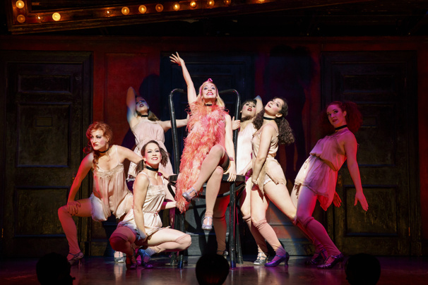Touring cast of Cabaret