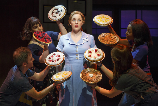 Original Broadway cast of Waitress