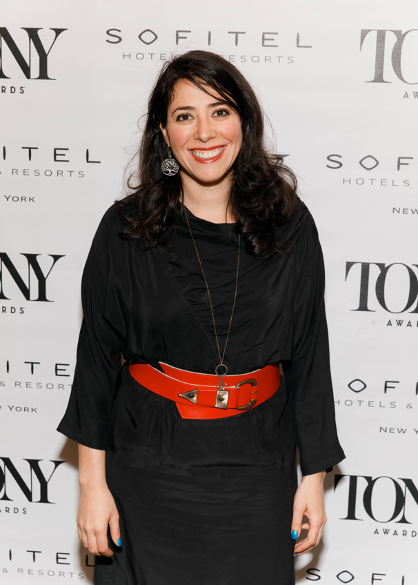 The Great Comet's Tony-nominated director Rachel Chavkin is all smiles.