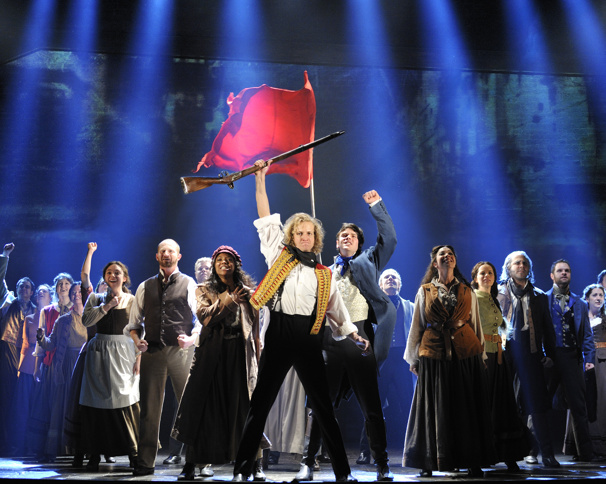 Broadway cast of Les Miserables