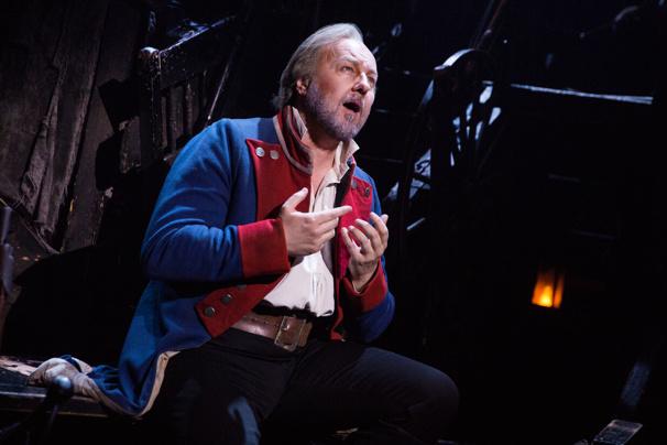 Broadway cast of Les Miserables