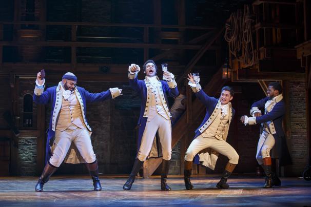 Touring company of Hamilton
