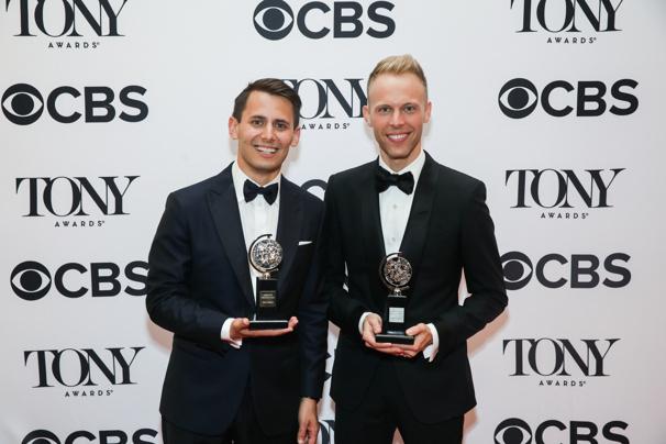 Dear Evan Hansen Tony Winners Benj Pasek & Justin Paul: 'This Is the Best Feeling in the World'