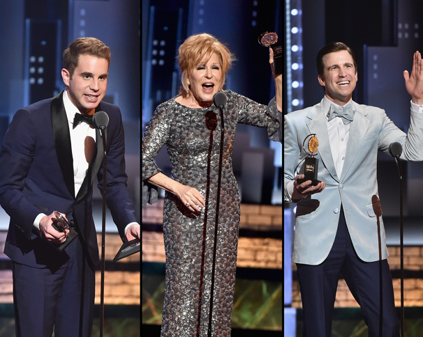 It Only Takes a Moment! The Top Three Tony Award Acceptance Speeches Fans Loved