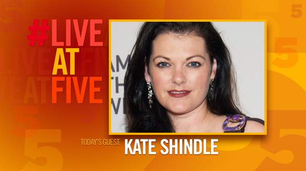 Broadway.com #LiveatFive with Kate Shindle of Fun Home