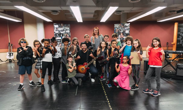 Rob Colletti, Lexie Dorsett Sharp & School of Rock's Kid Cast Get Ready to Roll on Tour
