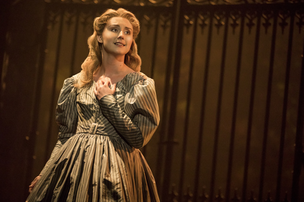 JillIan Butler as Cosette in Les Miserables