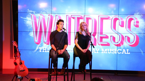 Special of the Day! Watch Jason Mraz & Betsy Wolfe Sing Songs from Broadway's Waitress