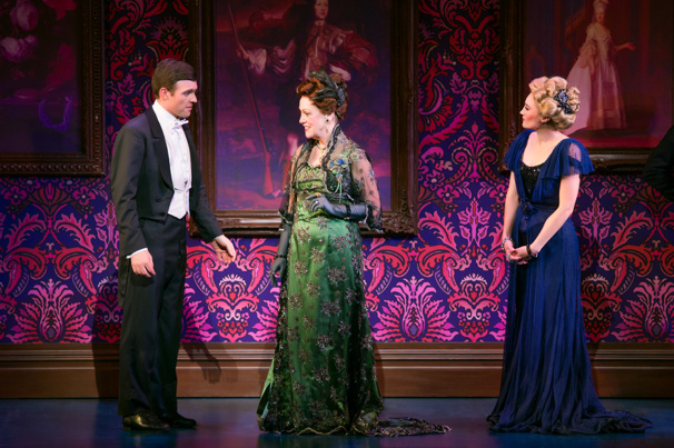 Billy Harrigan Tighe, Karen Murphy & Kristine Reese in Finding Neverland