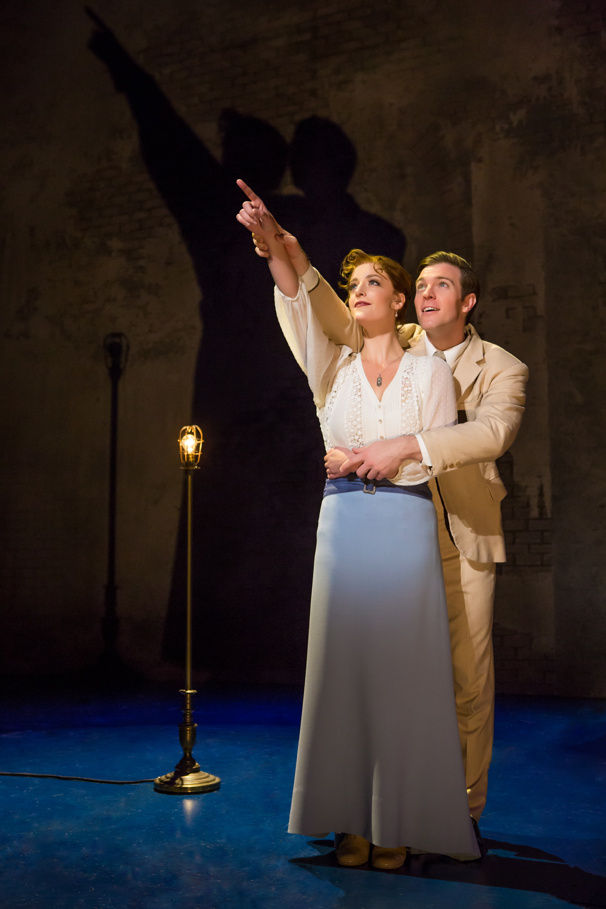 Lael Van Keuren & Billy Harrigan Tighe in Finding Neverland