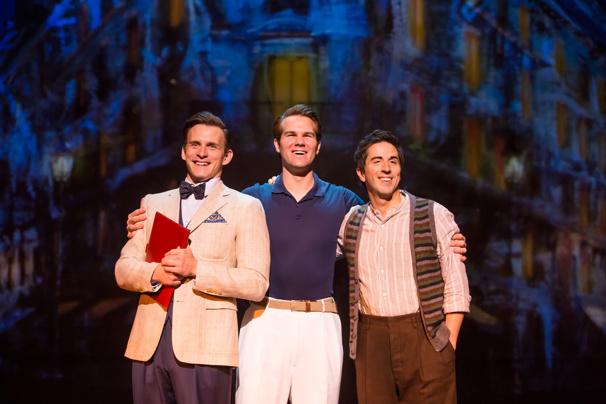 Ben Michael, McGee Maddox & Matthew Scott in An American in Paris