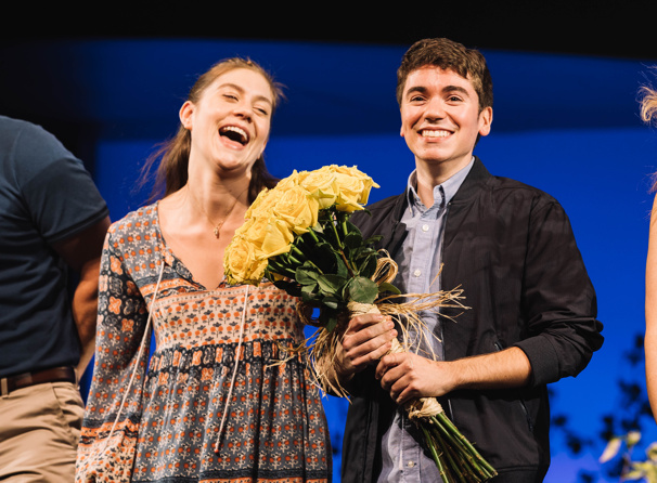 Good for You! See Photos from Noah Galvin's First Curtain Call in Dear Evan Hansen
