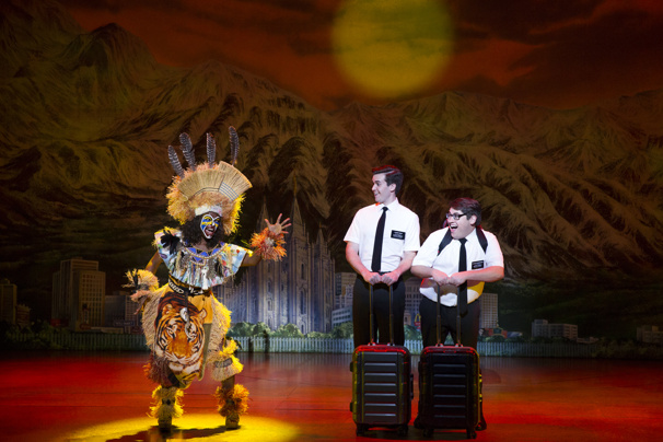 Monica L. Patton, Kevin Clay & Conner Peirson in The Book of Mormon