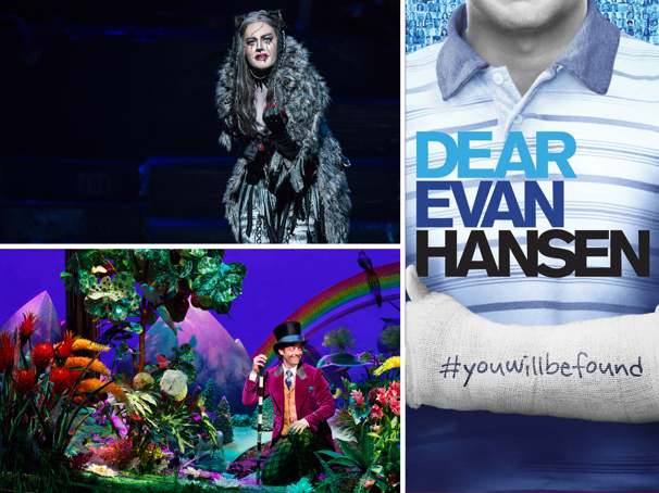 Seattle's 2018-19 Season Will Include Broadway's Cats, Dear Evan Hansen, Roald Dahl's Charlie and the Chocolate Factory & More