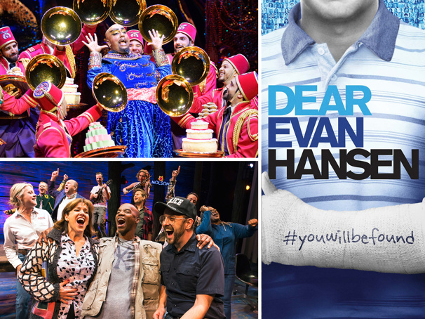 Atlanta's 2018-19 Season Will Include Broadway's Aladdin, Dear Evan Hansen, Come From Away & More