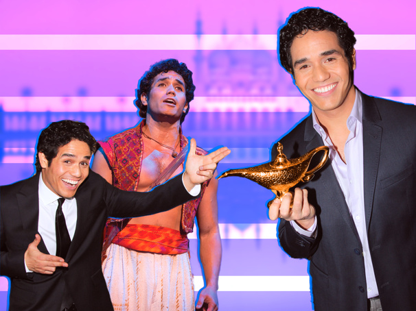 Aladdin Tour Star Adam Jacobs on Saying Salaam to Magic Carpet Rides, Being Proud of His Twin Boys & More